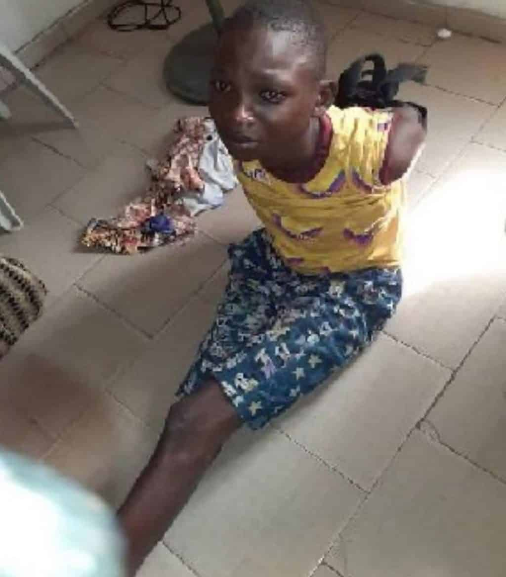 The suspect, Adewale Ayuba