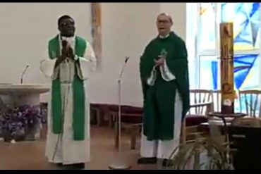Nigerian Priest Teaches Americans How To Sing In Igbo Language