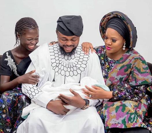 Kola Ajeyemi and his family