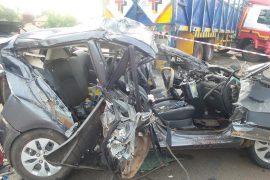 Lagos auto crash