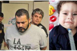 Mateus Henrique Leroy Alve and deceased son
