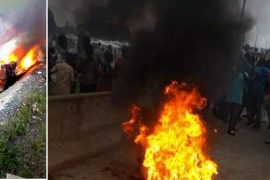 One chance suspect set ablaze in Abuja