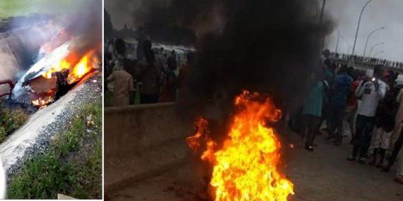 One chance suspect set ablaze in Abuja
