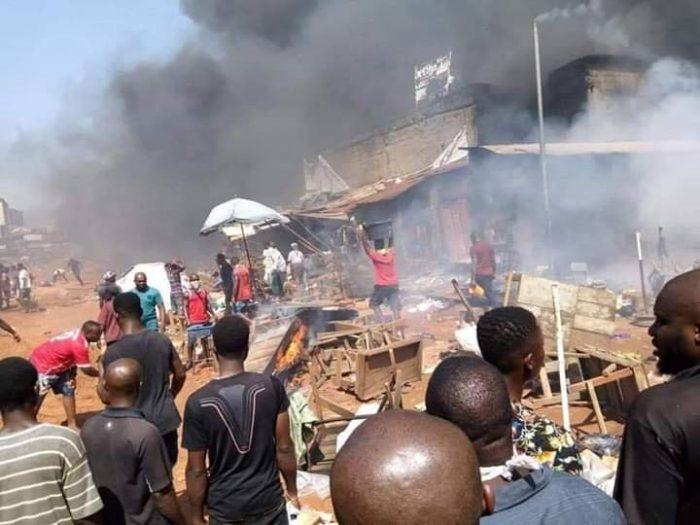 Onitsha tanker fire incident