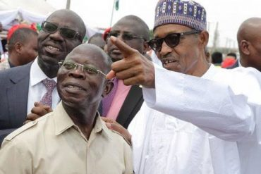 Buhari's Second Term Will Be Better For Nigerians: Oshiomhole