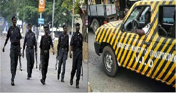 Police Officers, VIO Fight Dirty Over Who Should Inspect Cars In Lagos - Information Nigeria