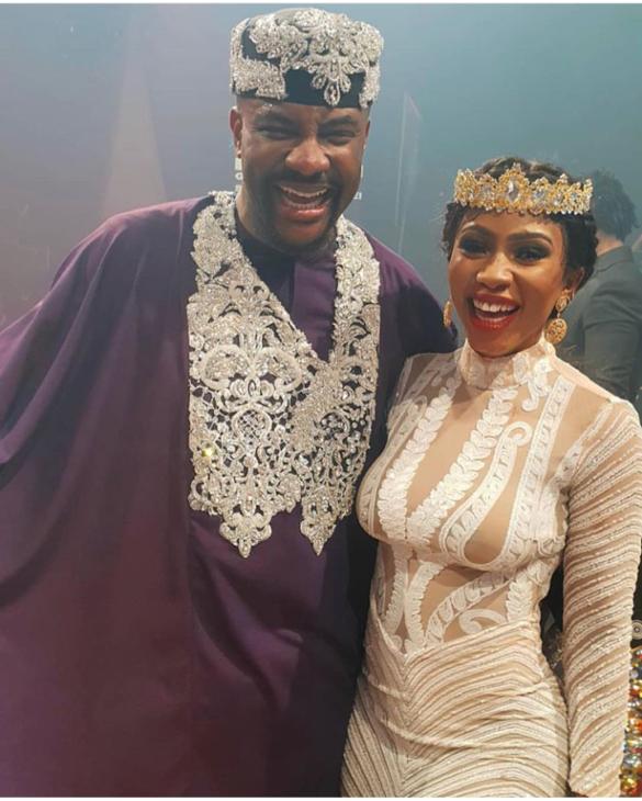 Ebuka Obi-Uchendu and Mercy Eke