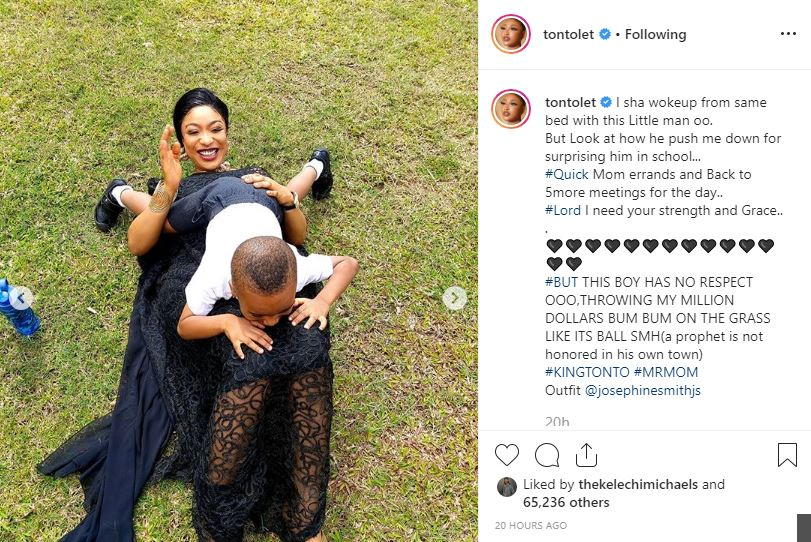 Tonto, Actress Tonto Dikeh Reveals Why She Hated Her Former Mother-In-Law