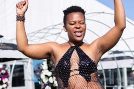SA Nudist Dancer Zodwa Wabantu