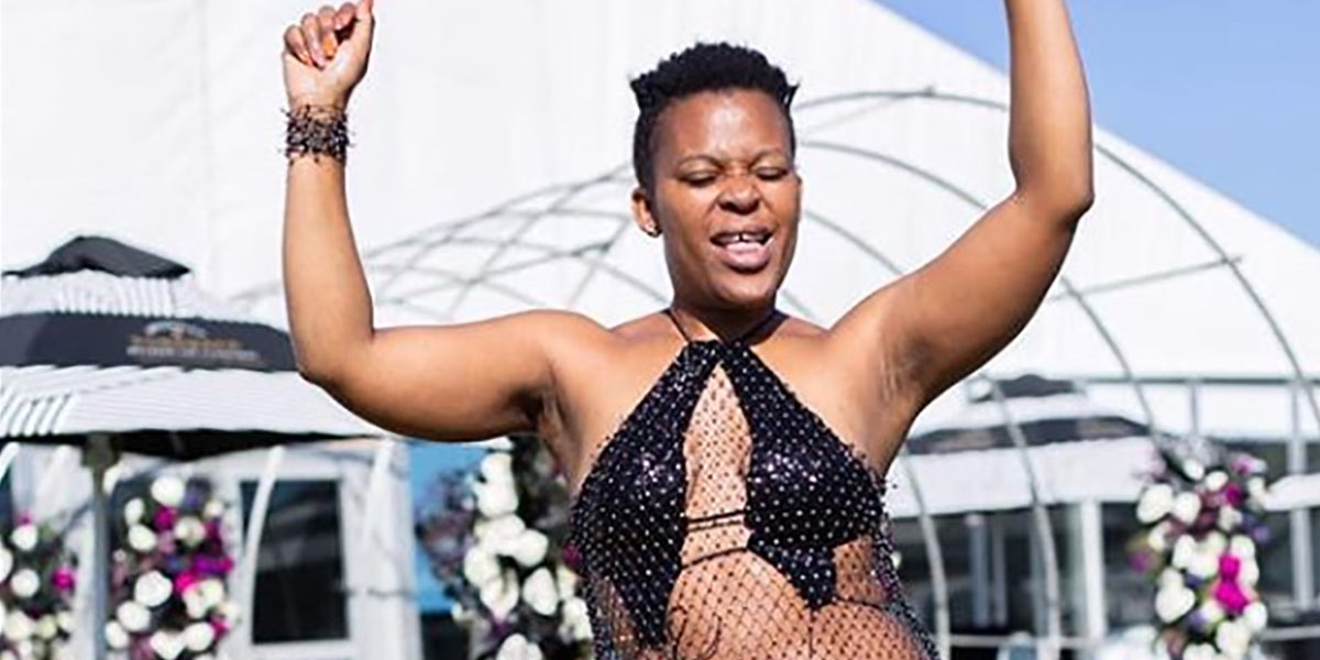 SA Nudist Dancer Zodwa Wabantu