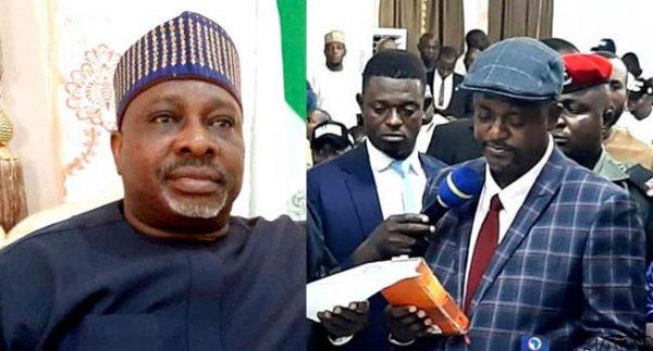 Simson Achuba and new deputy governor of Kogi state