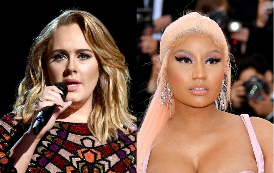 Nicki Minaj and Adele