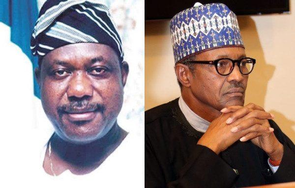 Photo of George Akume and President Buhari