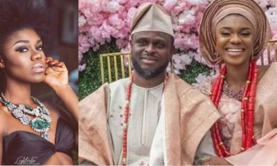 Becca and husband Oluwatobi Sanni Daniel