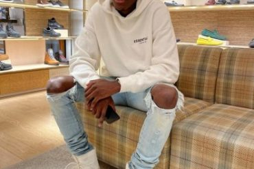 Chelsea Player, Tammy Abraham Sported At Starboy Fest
