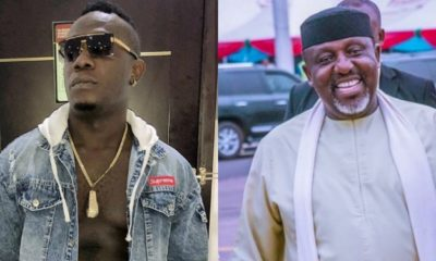 Collage photo of Duncan Mighty and Rochas Okorocha