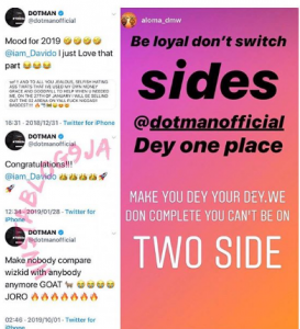 f 4 273x300 - Singer, Dotman In Soup With 'DMW Crew' For Declaring Wizkid 'The Greatest'