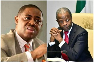 'The Evil One Is The Short Pastor Who Pretends To Be An Angel' – Fani Kayode Throws Shade At Osinbajo