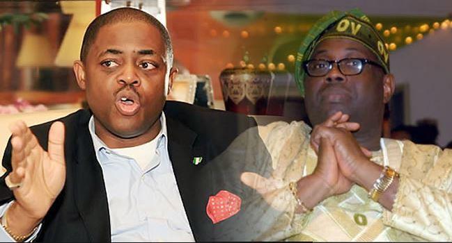 Fani kayode and dele momodu