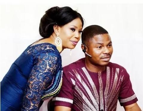 Yinka Ayefele and his wife, Temitope