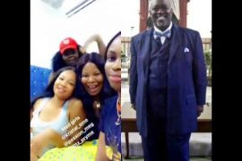 The Nigerian ladies and Pastor Wilson David