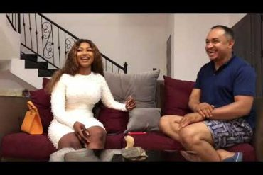 Tacha and Daddy Freeze