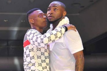New Baby: Davido Reacts To Wizkid's Congratulatory Message (Photo)
