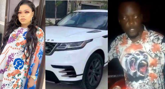 Bobrisky and the man who assaulted her