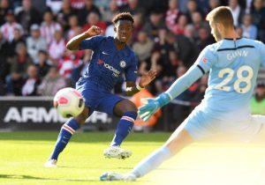 Tammy Abraham scores against Southampton