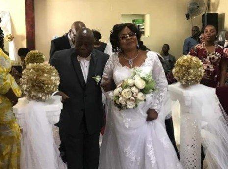 Titi Laoye-Tomori and husband, Michael Ponle