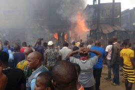 Onitsha fire incident