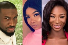 Peter Okoye, Tacha and Jaruma