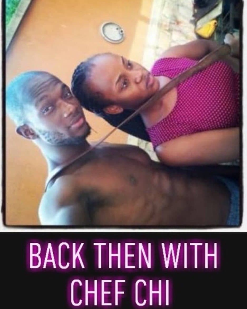 Chioma and her alleged ex-boyfriend