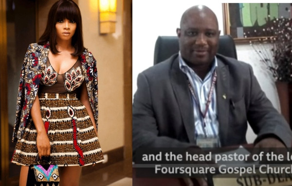 Toke Makinwa and Dr. Boniface Ighenehue