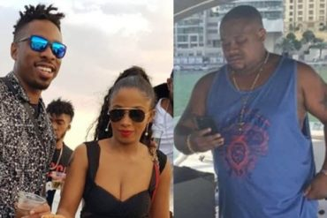 Mercy, Ike Hang Out With Cubana Chief Priest In Dubai (Photos)