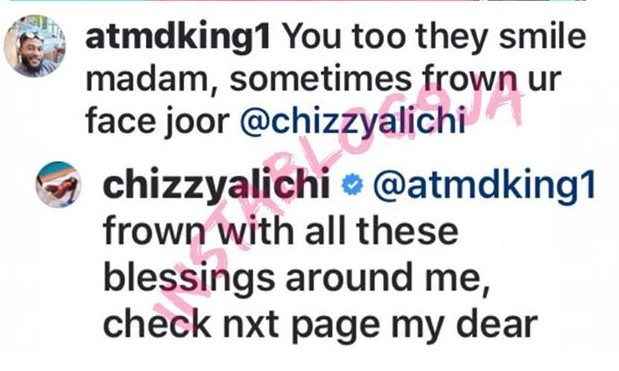10546483 4 jpeg9679ccb5a92f650b83fcf29e0a6a6775 - Actress, Chizzy Alichi Fires Back At Fan Who Says She Smiles Too Much