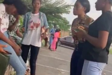 Video: Ibadan Poly Student Confronts Schoolmate For Sleeping With Her Boyfriend