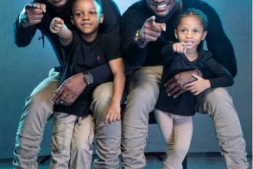 Peter Okoye's Kids Sends Lovely Message To Mark Singer's 38th Birthday (Video)