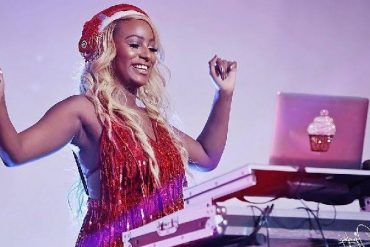 Dj Cuppy Thrills Crowd As She Bends Over Backwards On Stage (Video)