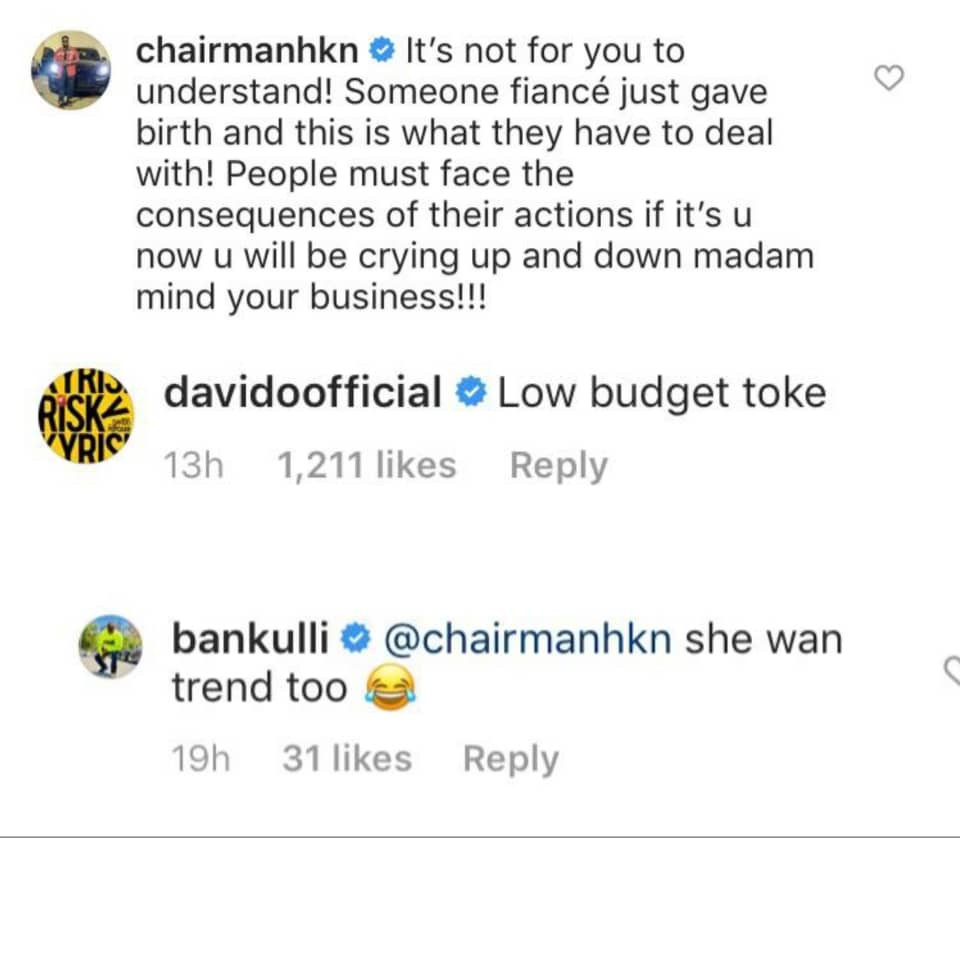 Tboss dragged by Davido and his team
