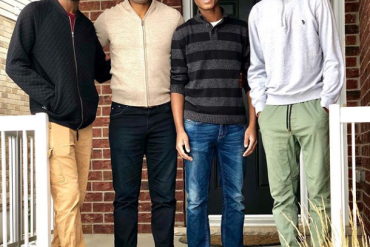 Omoni Oboli Celebrates Her Husband And Sons On International Men's Day