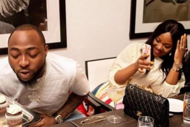 My Chiom Chiom – Davido Thanks His Fiance As She Celebrates Him