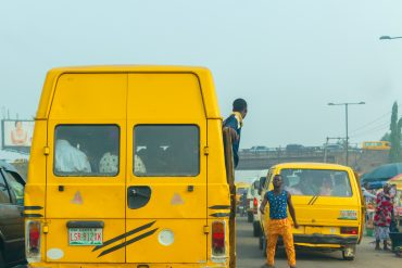 Drama As Lagos Bus Conductor Suits Up To Work (Video)