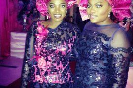 Annie Idibia and Funke Akindele
