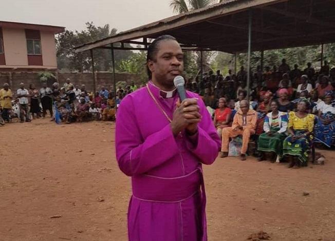 Bishop Sam Zuga Revives Half-Dead Man After 7 Days In Coma (Video) - Information Nigeria