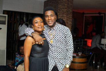 Burna Boy And Team Celebrate Mom On Her Birthday
