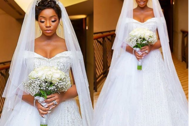 Checkout Stunning Photos From BamBam And Teddy A's White Wedding