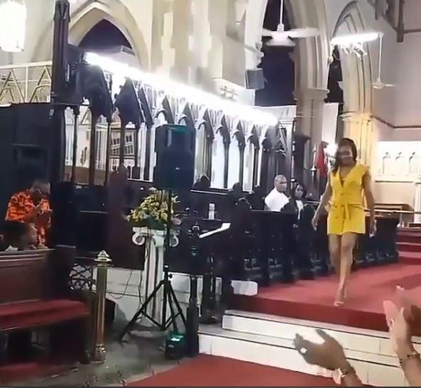 Bikini In Church