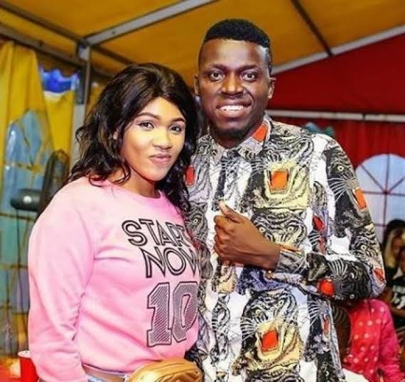 Comedian Akpororo and wife