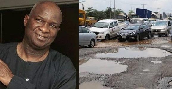 Fashola and bad portion of Nigerian road